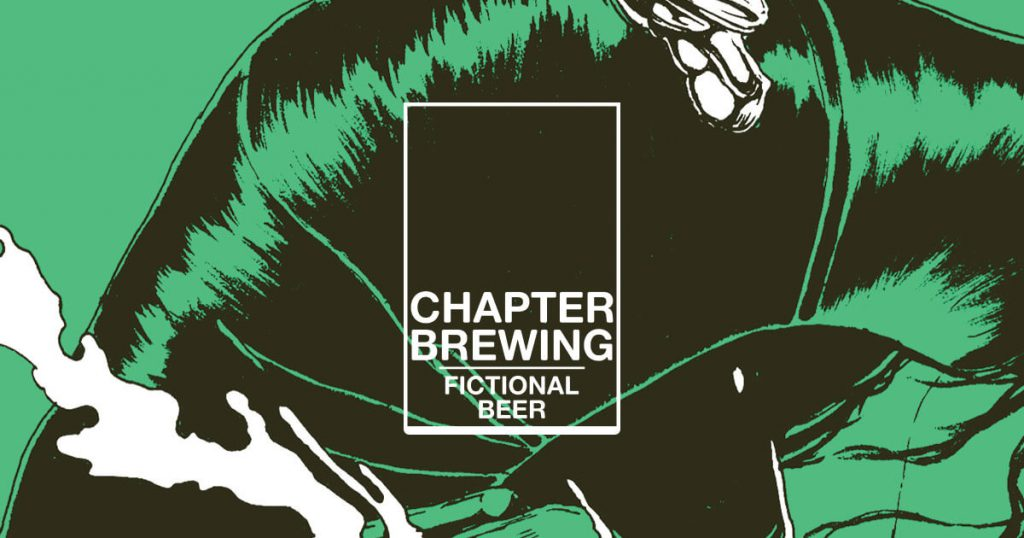 Chapter Brewing - Fictional beer. Real character.